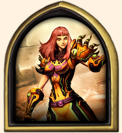 Portrait Faerlina Hearthstone