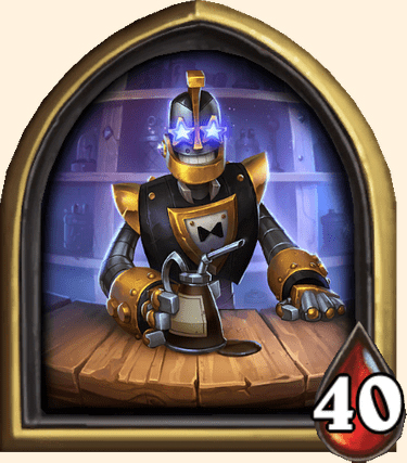 Portrait Barmanotron Hearthstone