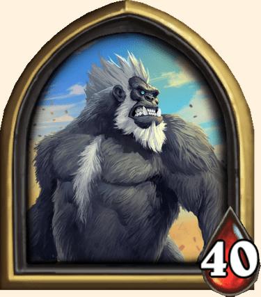 Roi Mukla héros de Hearthstone