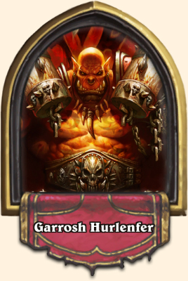 Portrait Guerrier Hearthstone