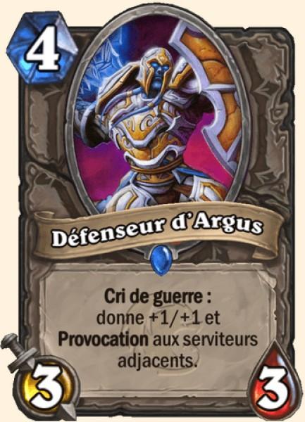 Défenseur d'Argus carte Hearthstone