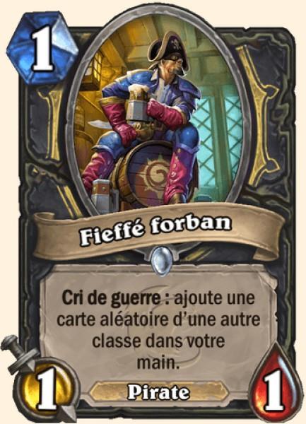 Fieffé forban - Carte Karazhan Hearthstone