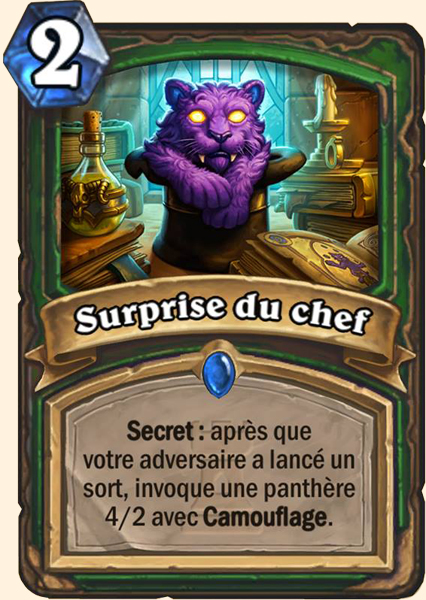 Surprise du chef - Carte Karazhan Hearthstone