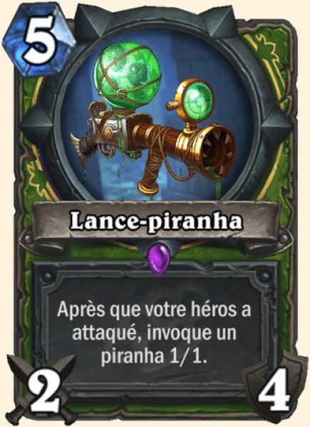 Lance-piranha carte Hearthstone