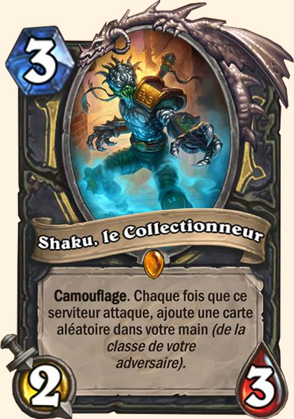 Shaku, le Collectionneur carte Hearthstone