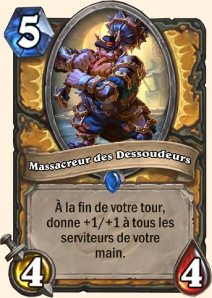 Massacreur des Dessoudeurs carte Hearthstone