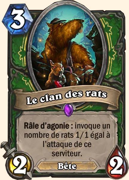 Le clan des rats carte Hearthstone