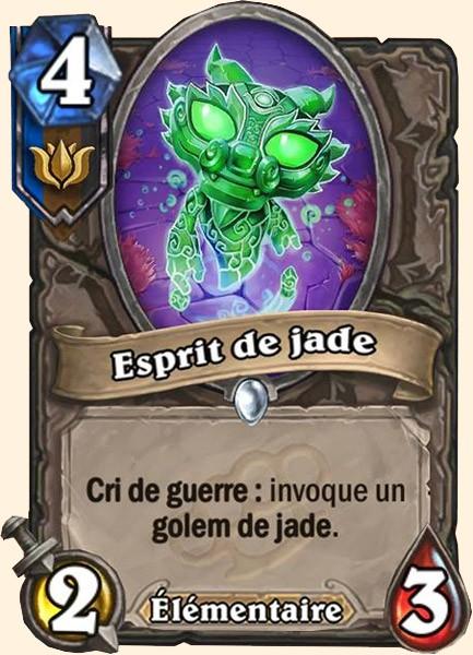 Esprit de jade carte Hearthstone