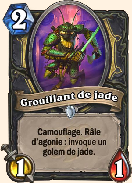 Grouillant de jade carte Hearthstone