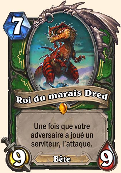 Roi du marais Dred carte Hearthstone