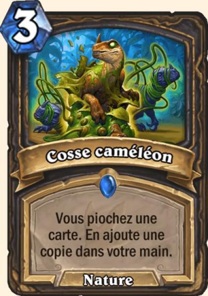 Cosse caméléon carte Hearthstone