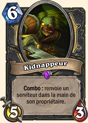 Kidnappeur carte Hearthstone