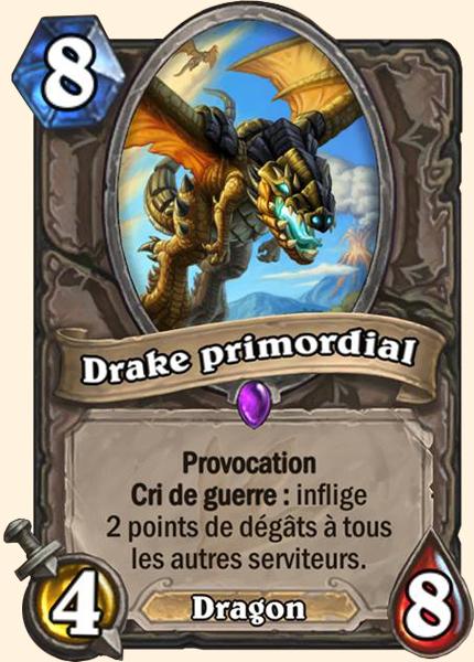 Drake primordial carte Hearthstone