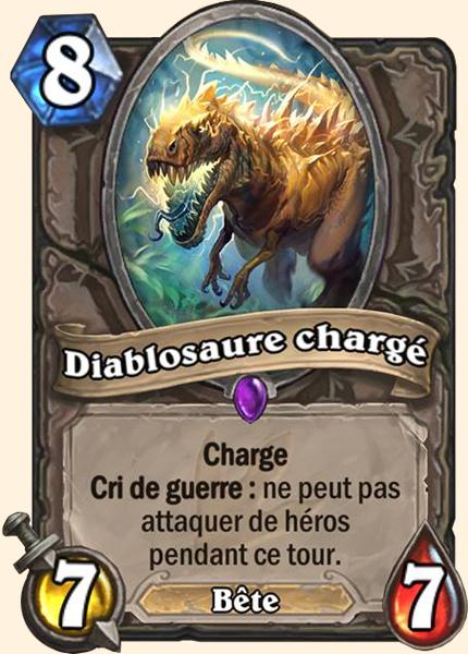 Diablosaure chargé carte Hearthstone