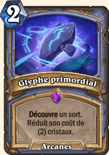 Glyphe primordial carte Hearthstone