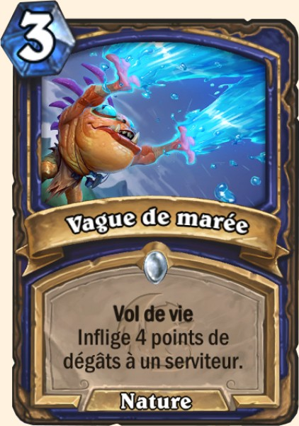 Vague de marée carte Hearthstone