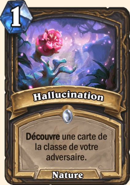 Hallucination carte Hearthstone