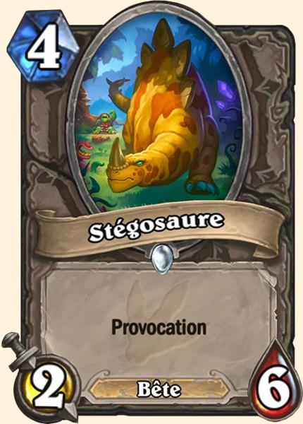 Stégosaure carte Hearthstone
