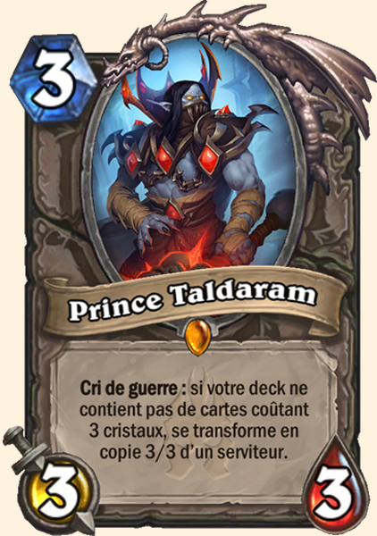 Prince Taldaram carte Hearthstone