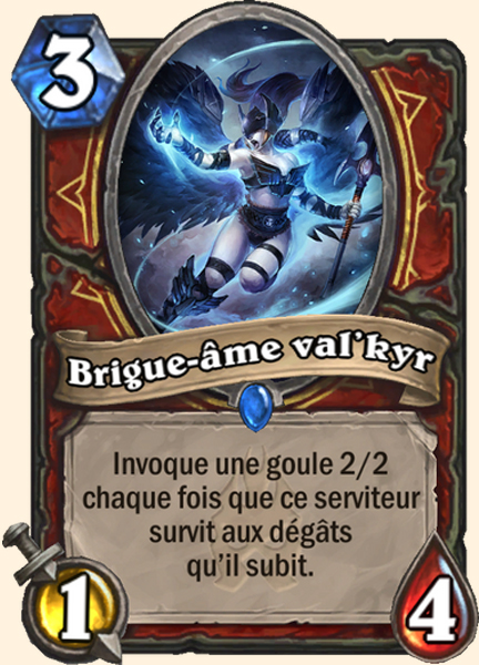 Brigue-âme val'kyr carte Hearthstone