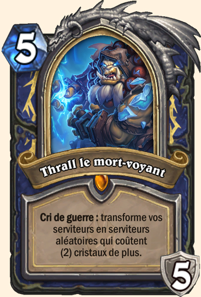 Thrall le mort-voyant carte Hearthstone