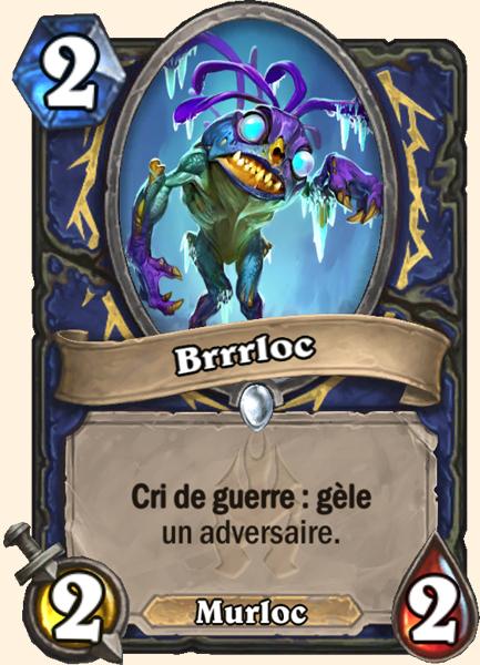 Brrrloc carte Hearthstone