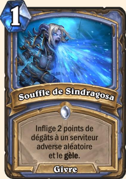 Souffle de Sindragosa carte Hearthstone