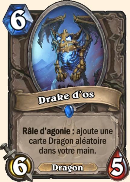 Drake d'os carte Hearthstone