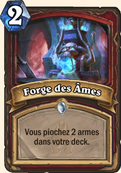 Forge des Âmes carte Hearthstone