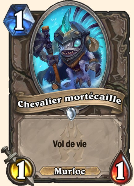 Chevalier mortécaille carte Hearthstone