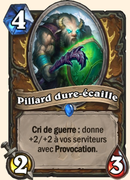 Pillard dure-écaille carte Hearthstone
