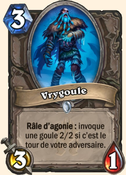 Vrygoule carte Hearthstone