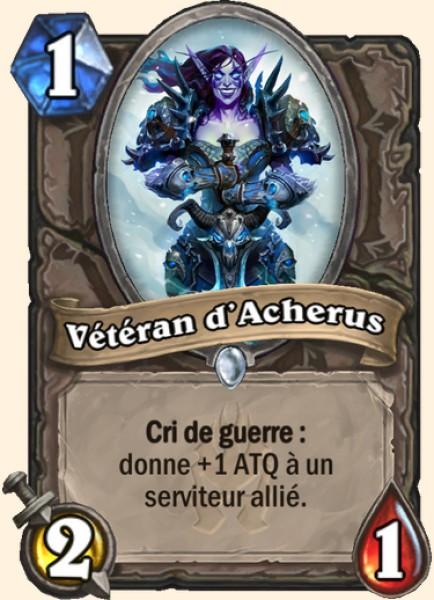 Vétéran d'Acherus carte Hearthstone