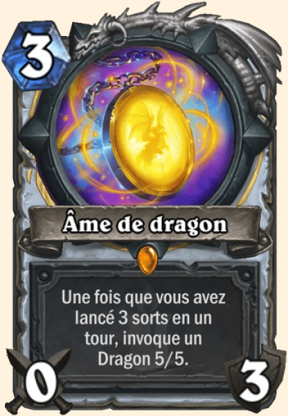 Âme de dragon carte Hearthstone