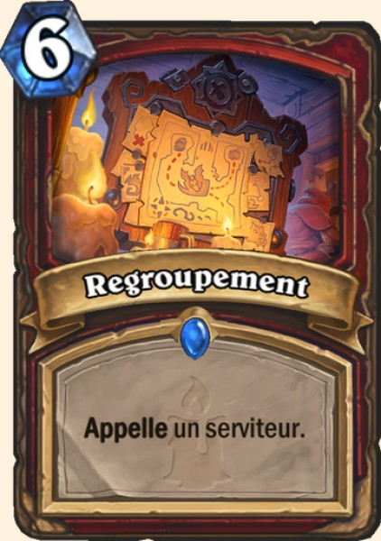 Regroupement carte Hearthstone