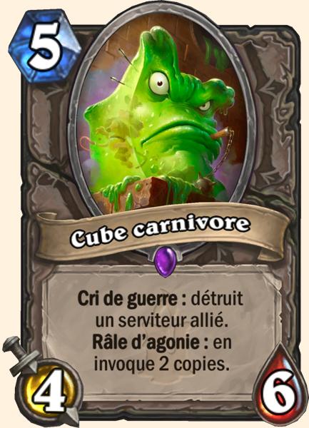 Cube carnivore carte Hearthstone