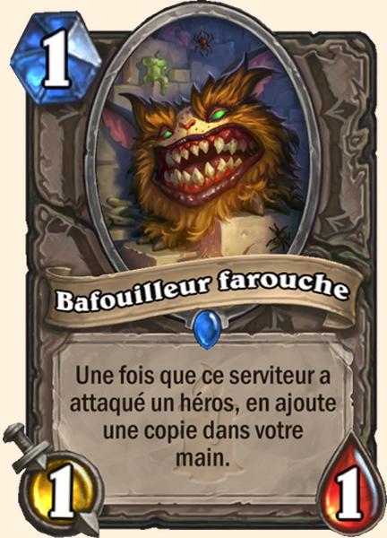 Bafouilleur farouche carte Hearthstone
