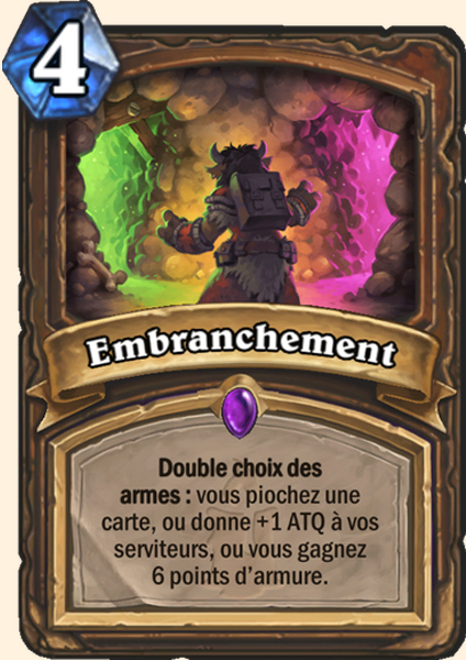 Embranchement carte Hearthstone