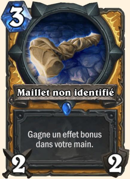 Maillet non identifié carte Hearthstone