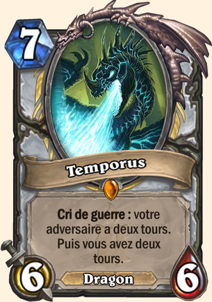 Temporus carte Hearthstone