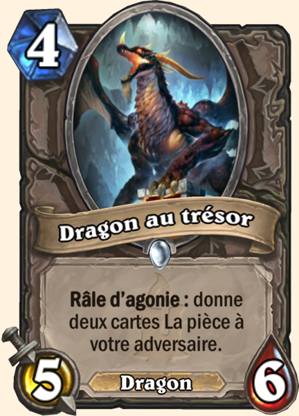 Dragon au trésor carte Hearthstone