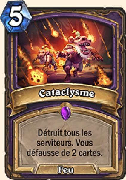 Cataclysme carte Hearthstone