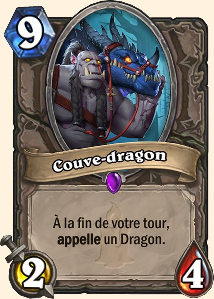 Couve-dragon carte Hearthstone