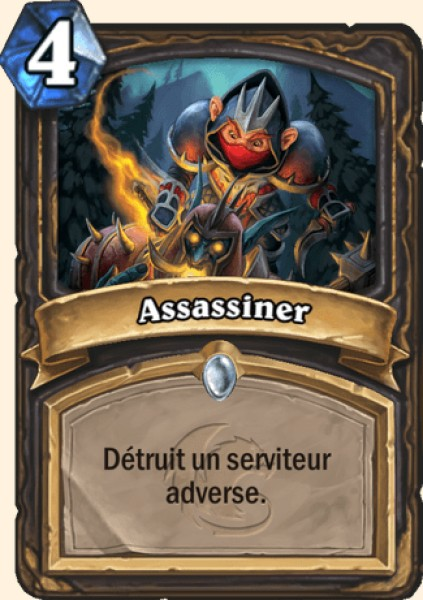 Assassiner carte Hearthstone