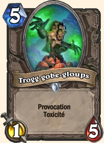Trogg gobe-gloups carte Hearthstone