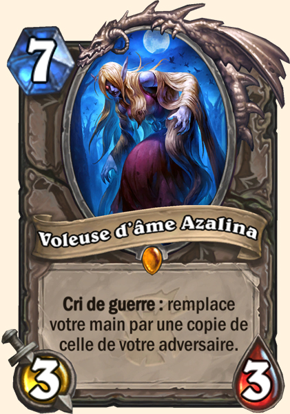 Voleuse d'âme Azalina carte Hearthstone