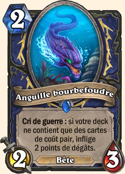 Anguille bourbefoudre carte Hearthstone