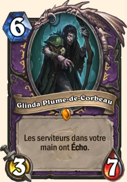 Glinda Plume-de-Corbeau carte Hearthstone