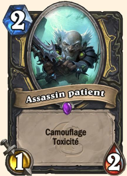 Assassin patient carte Hearthstone