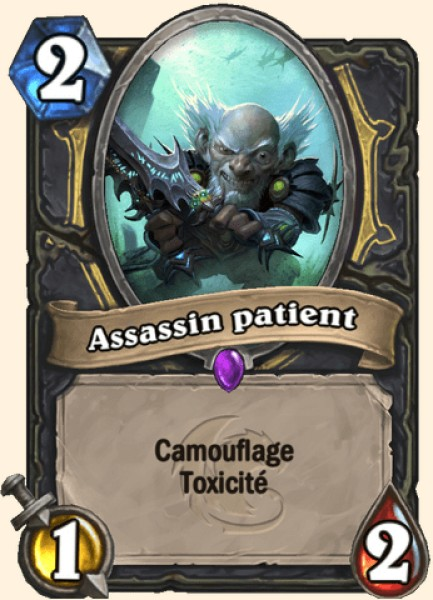 Assassin patient carte Hearthstone